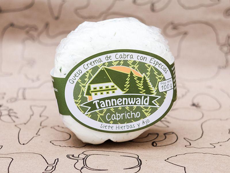 foto de Queso de Cabra Tannenwald finas hierbas y ajo